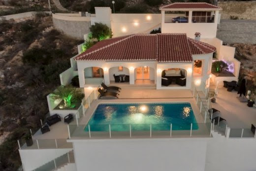 Modern style villa renovated with spectacular sea views in Benitachell | Cumbre del Sol