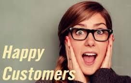 خوشحالی و احترام به مشتری
