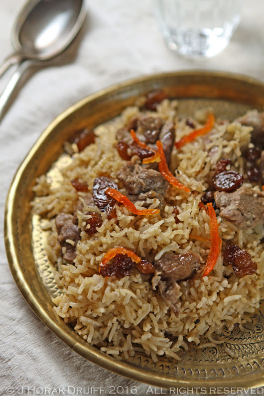 Afghani lamb pulao from Summers Under the Tamarind Tree - Cooksister | Food, Travel, Photography