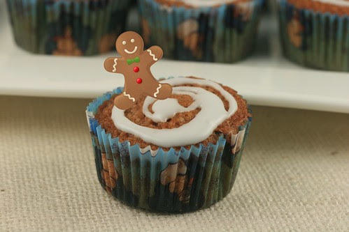 Gingerbread Cupcakes - MS Cupcake Club