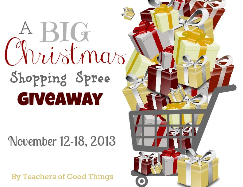 A Big Christmas Shopping Spree Giveaway