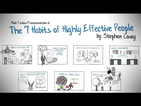 Download video: THE 7 HABITS OF HIGHLY EFFECTIVE PEOPLE BY STEPHEN COVEY - ANIMATED BOOK REVIEW
