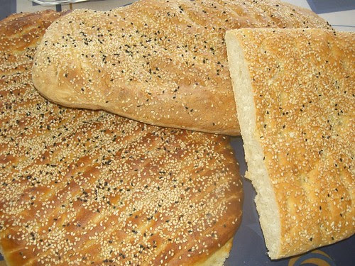 lagana bread for the start of great lent