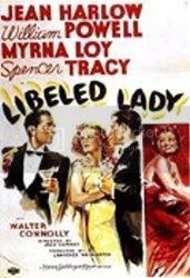 Poster for Libeled Lady