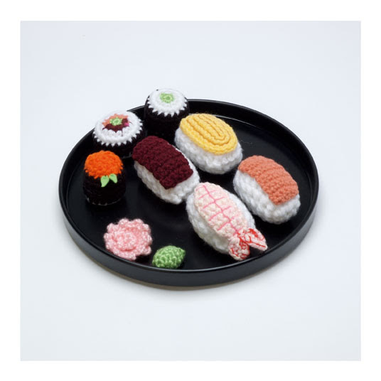 Amigurumi Sushi by Christen Haden (Usa)
