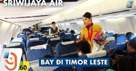 [M9] VLOG #60: Chuyến bay đi Đông Timor với Sriwijaya Air | Yêu Máy Bay
