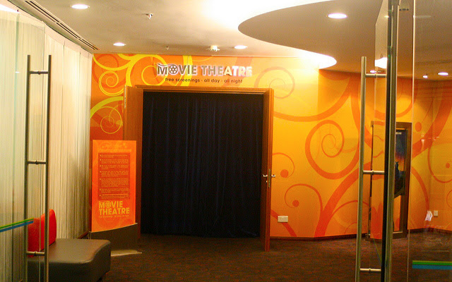 Free movie screenings all day, all night!