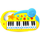 Snag-It Kids Electronic Piano Keyboard with Record & Playback, Yellow