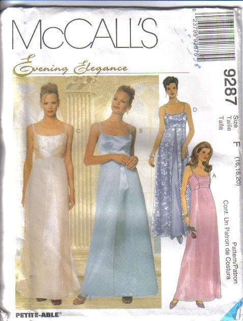 Plus size evening dresses patterns