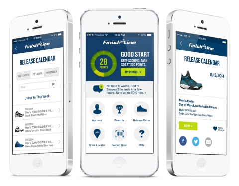 Finish Line Bolsters Customer Loyalty with New App to Improve the Shopping Experience | Business Wire