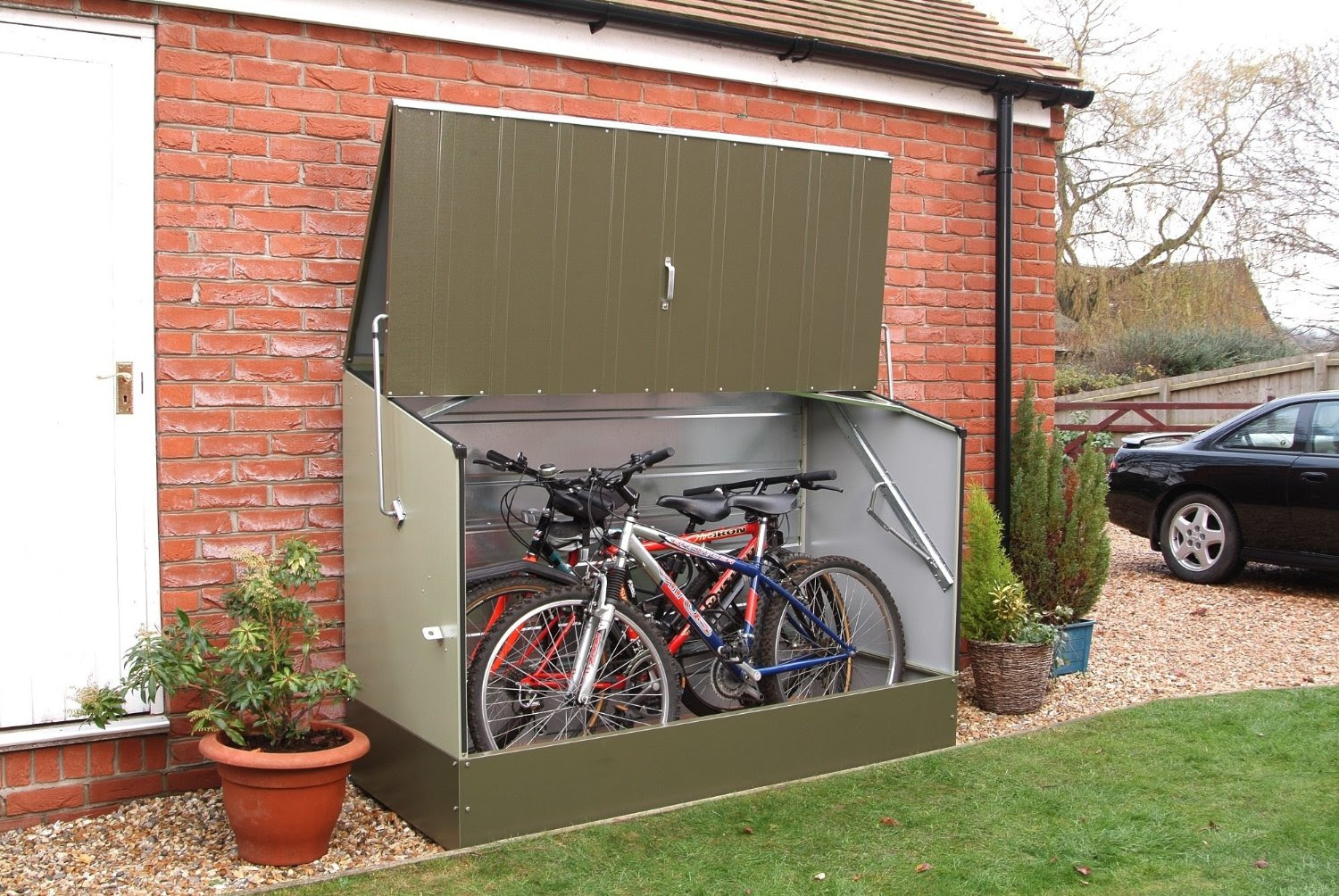 Trimetals Bicycle Storage Shed