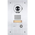 """Aiphone Corporation is-IPDVF is-IPDF IP Addressable Video Door Station for is Series IP Video Intercom, Stainless Steel, 10-7/16"""" x 5-15/16"""" x 1-5/8"""""""