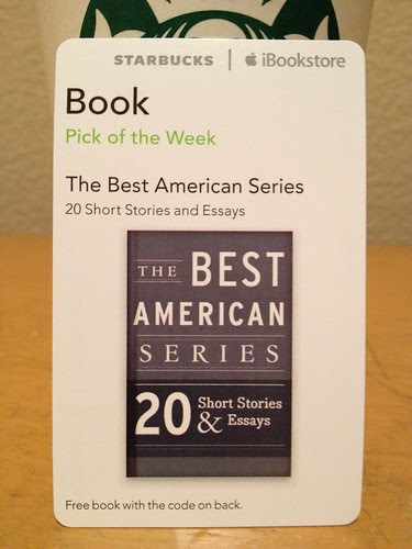 Starbucks iTunes Pick of the Week - The Best American Series - 20 Short Stories & Essays