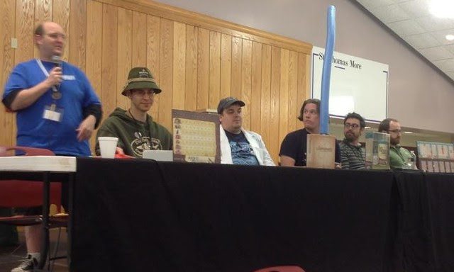 The Designer Panel at UnPub3