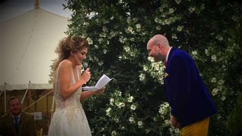 Funniest Wedding Vows you will EVER HEAR!!!   YouTube