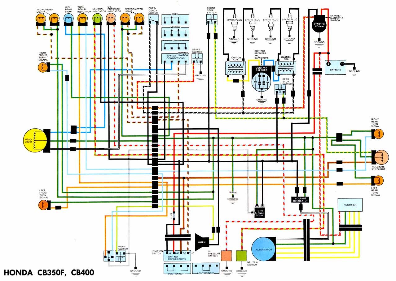 yamaha rd 350 wiring diagram color : yamaha rz350 wiring diagram wiring  diagram recent fur crowd fur crowd cosavedereanapoli it / here is an  example of the installation of the high output  wiring diagram 3 way switch
