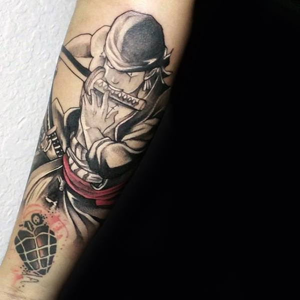 70 One Piece Tattoo Designs For Men Japanese Anime Ink Ideas