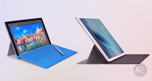 iPad Pro Vs Surface Pro 4: Benchmarks Comparison | Redmond Pie