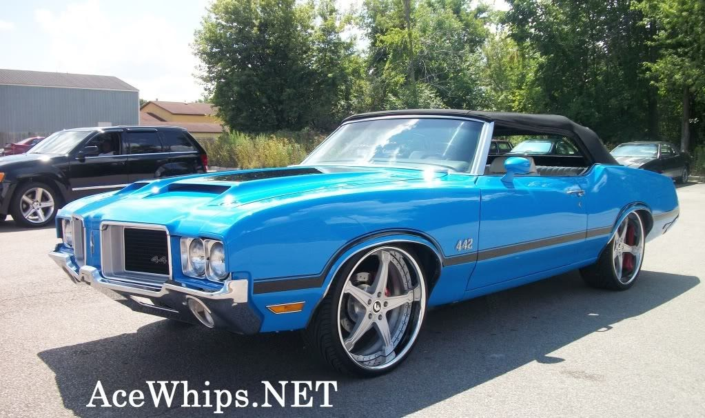 Ace 1 Michigan 1971 Oldsmobile 442 Cutlass On 22