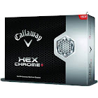 Callaway Hex Chrome+ Golf Ball, White - 12 pack