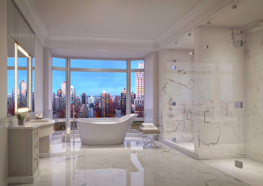 "MGI on Twitter: ""Rendering of #520Park by #ZeckendorfDevelopment showcasing the #Caldia #marble. #NYC #Luxury #architecture """