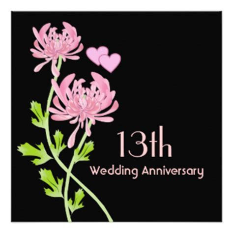 13th Wedding Anniversary Gifts   T Shirts, Art, Posters