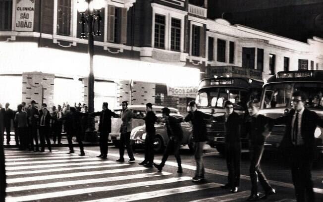 O auge dos protestos contra o regime militar foi o ano de 1968 . Foto: Arquivo Brasil Nunca Mais
