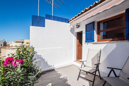 Portixol/ Es Molinar, Palma de Mallorca: Beautiful loft style penthouse with a private terrace in Molinar