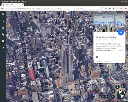Earth on Web: The road to cross browser – Google Earth and Earth Engine – Medium