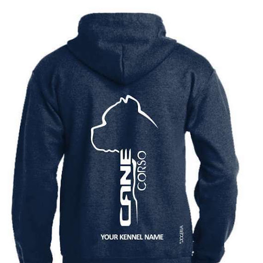 Details about Cane Corso Dog Breed Hoodie, Pullover style, Exclusive Dogeria design