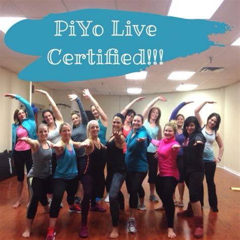 crystal p fitness  food piyo certification