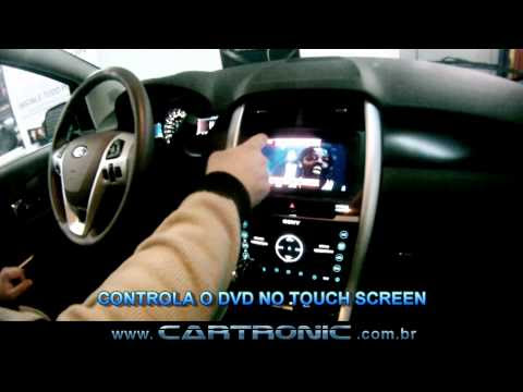 Desbloqueio NEW FORD EDGE 2012 / 2013 ford GPS TV Digital