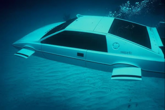 How James Bond's submarine car was discovered in Long Island