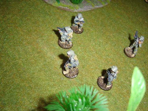 2nd Fire Team - Sakhan Heavy Infantry