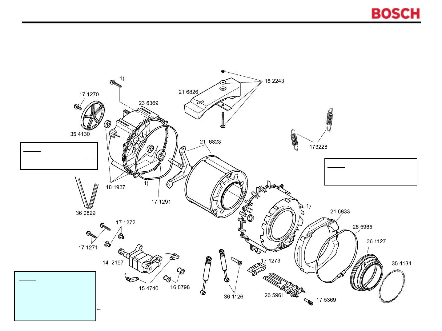 Noministnow: Bosch Nexxt 500 Series Washer Parts Diagram