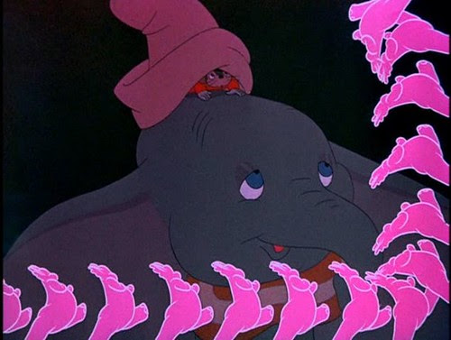 pink elephants 8 round it