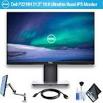 """Dell 21.5"""" 16:9 Ultrathin Bezel IPS Monitor Bundle"""