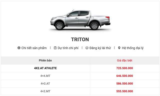 Mitsubishi Triton 2019 tại Việt Nam lộ thông số kỹ thuật: Nhiều khách hàng thất vọng vì thiếu trang bị an toàn - Ảnh 2.