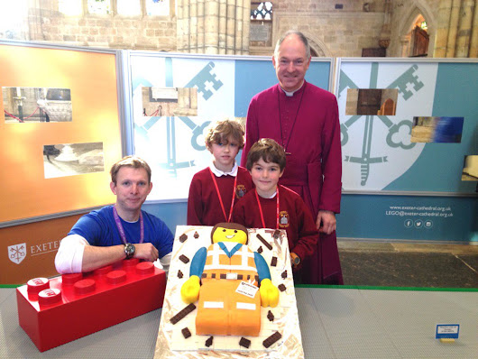 "Exeter Cathedral on Twitter: ""The beginning of something special #bigLEGObuild """