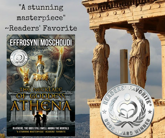 A silver medal for The Necklace of Goddess Athena