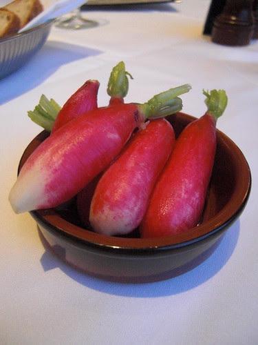 Peppery radishes