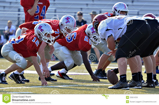 Line Of Scrimmage Editorial Stock Image - Image: 33824339