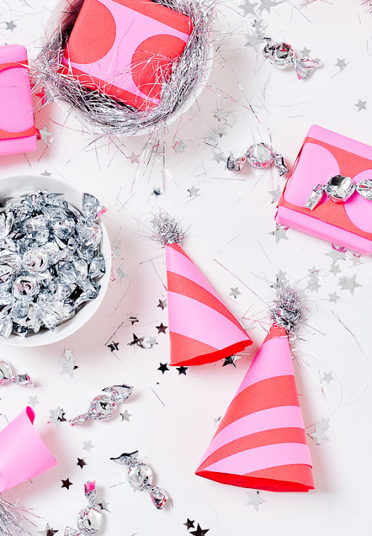 Let's Party: 7 DIY Party Ideas for New Year's Eve - Paper and Stitch