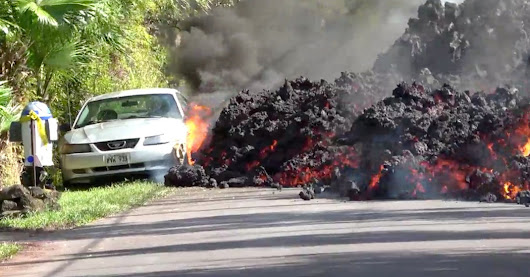 He Couldn't Save His Car and 'Star Wars' Mailbox From the Lava