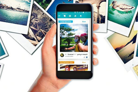 Revisit your digital past with these photo memory apps