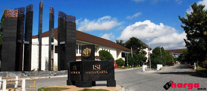 Update Info Terbaru Biaya UKT di ISI Yogyakarta  Daftar