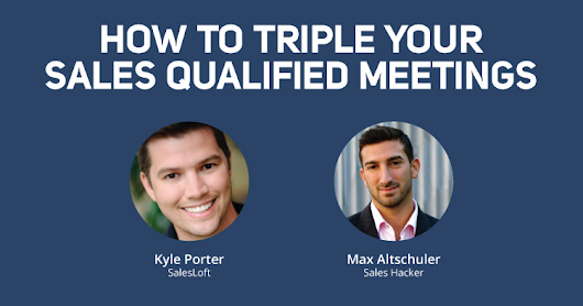 How to Triple Your Sales Qualified Meetings