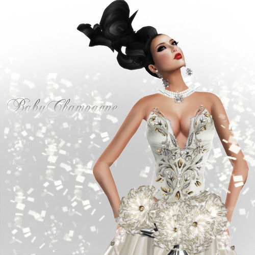 Miss Empire of Beauty- Miss China contestant outfit by Babychampagne