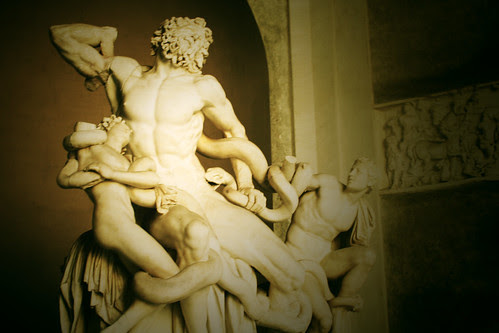 laocoon and his sons by Eri King