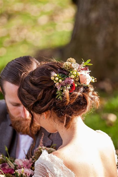 bridal hair flowers ideas  pinterest